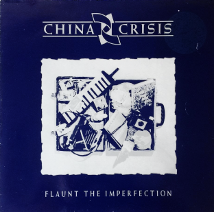 China Crisis ‎- Flaunt The Imperfection (LP) (VG/VG-)